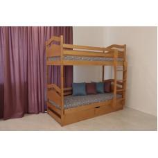 ліжко двоярусне Вінні Пух з підйомним механізмом
